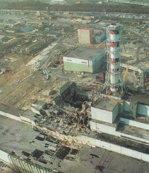 Desastre Nuclear de Chernobyl - Reactor Nr. 4