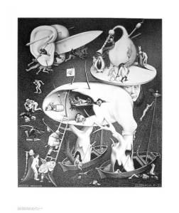Infierno. M.C. Escher.