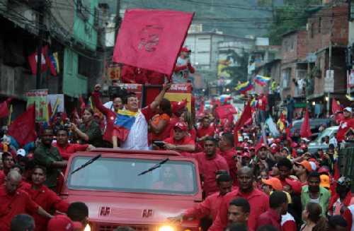 Chávez en La Bombilla