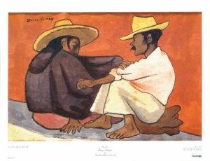 """""""Pareja Indígena"""" - Diego Rivera"""